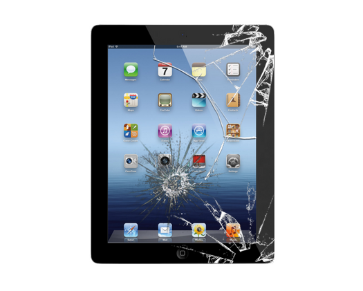 iPad 2 Cracked Glass Screen Replacement