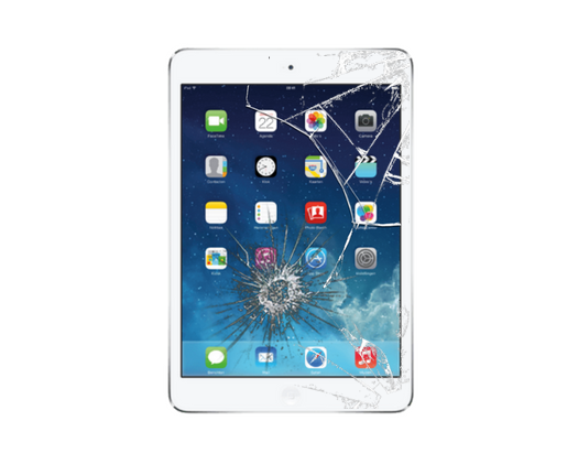 iPad Mini 3 Cracked Glass Screen Replacement