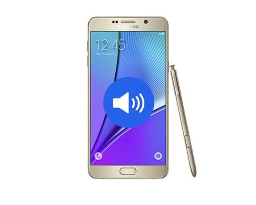 Galaxy Note 5 Loud Speaker Replacement