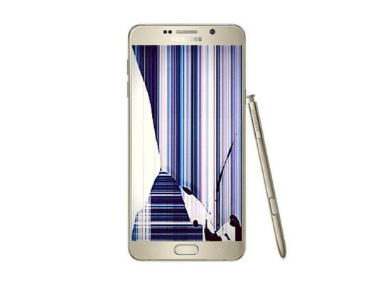 Galaxy Note 5 Cracked LCD Screen Replacement