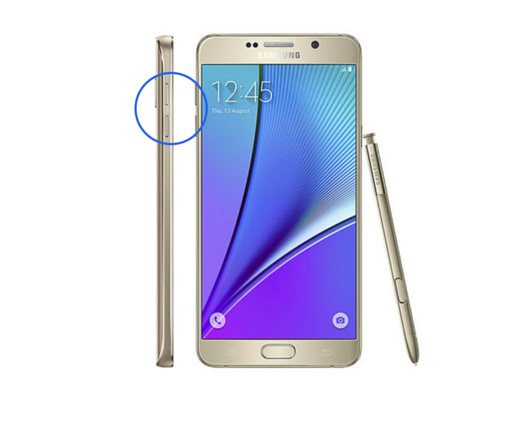 Galaxy Note 5 Volume Button Repair