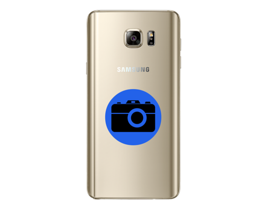 Galaxy Note 5 Rear Camera Cracked Lens Replacement
