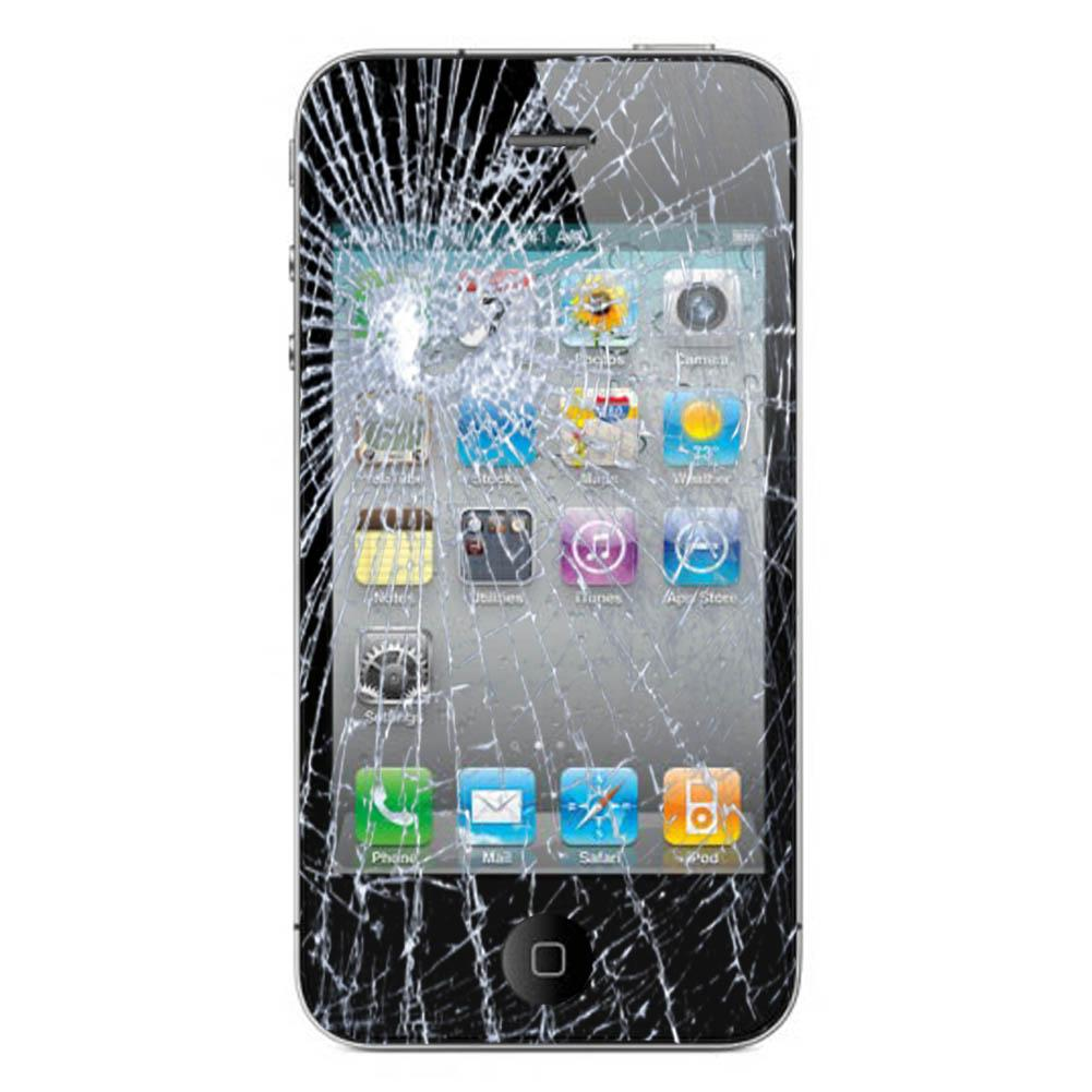 iPhone 4S Cracked Glass Screen Replacement