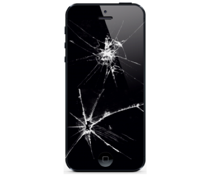 iPhone 5 Cracked LCD Screen Replacement