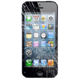 iPhone 5 Cracked Glass Screen Replacement