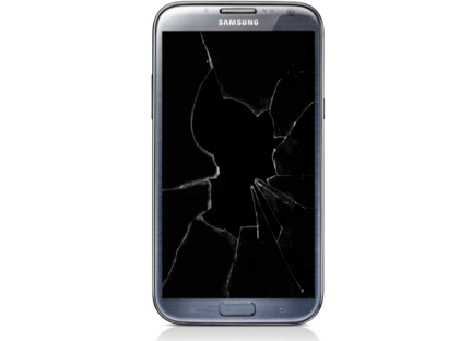 Samsung Galaxy Note 2 Glass and LCD Replacement