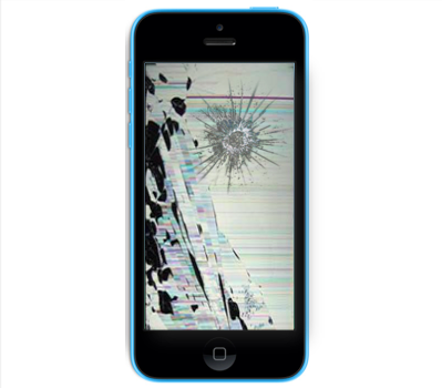 iPhone 5C Cracked LCD Screen Replacement