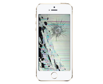 iPhone 5S Cracked LCD Screen Replacement