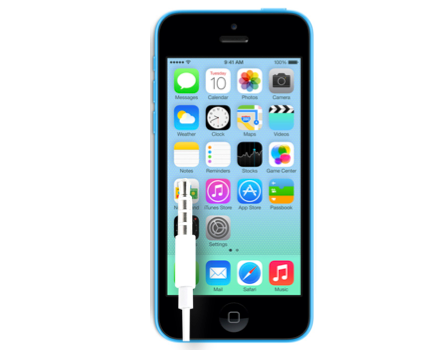 iPhone 5C Earphone Audio Jack Replacement