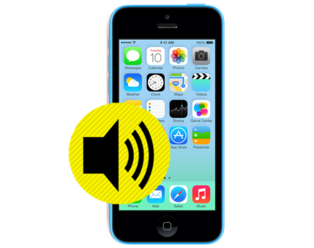 iPhone 5C Loud Speaker Replacement