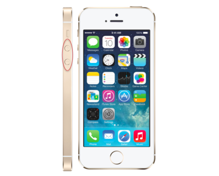 iPhone 5S Volume Button Repair