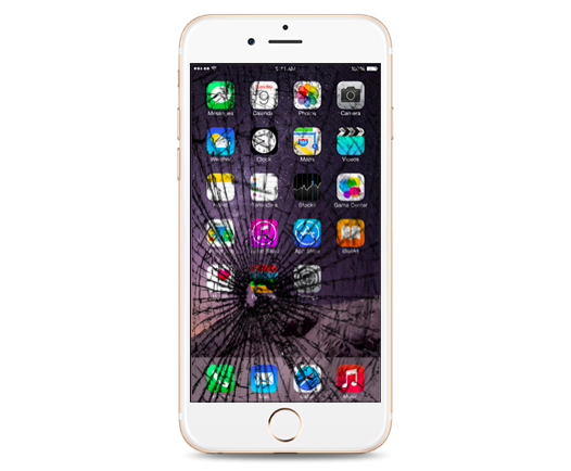 iPhone 6 Plus Cracked Glass Screen Replacement