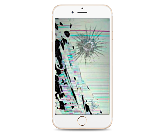 iPhone 6 Plus Cracked LCD Screen Replacement
