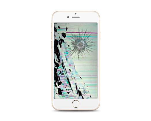 iPhone 6S Cracked LCD Screen Replacement